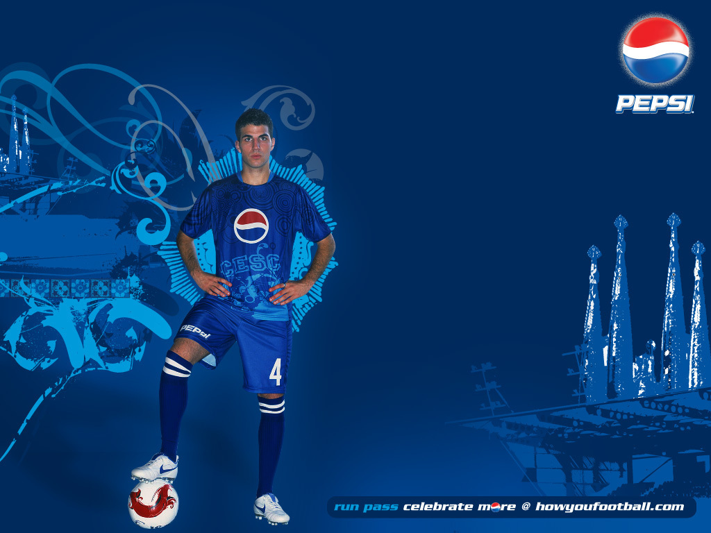 Cesc Fabregas Pepsi Fussball Hintergrund 2251126 Fanpop