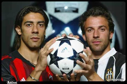 Champions League 2003 Final - With Rui Costa