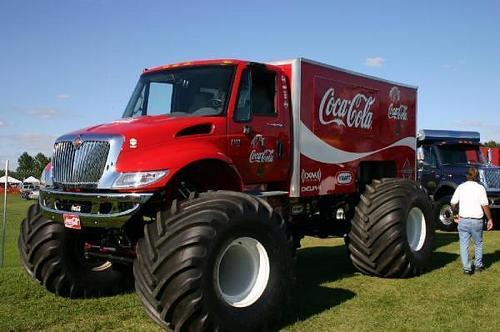 Coke Monster Truck