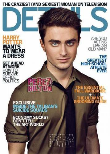 Daniel Radcliffe - Details Magazine