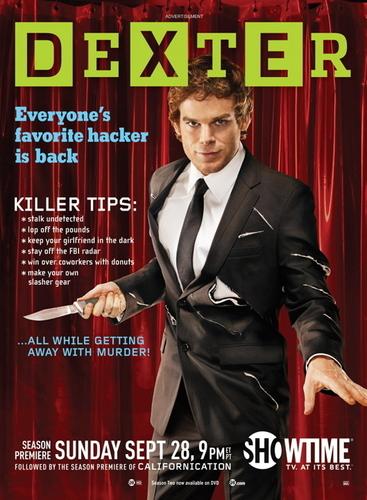 dexter Season 3 Promotional Poster