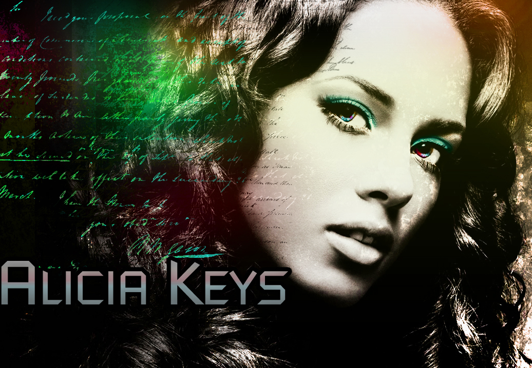 alicia keys wallpaper. Alicia Keys V2