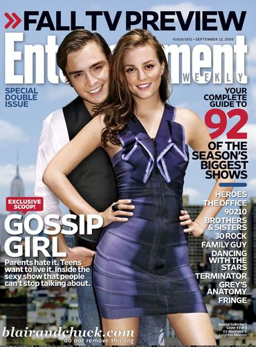 Ed & Leighton in Entertainment Weekly