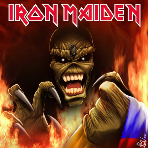 Iron Maiden پیپر وال possibly containing عملی حکمت entitled Eddie-Iron Maiden
