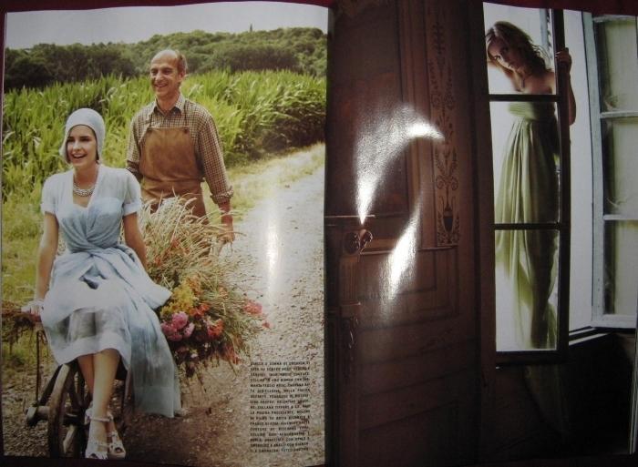 Emma - Italian Vogue Photoshoot