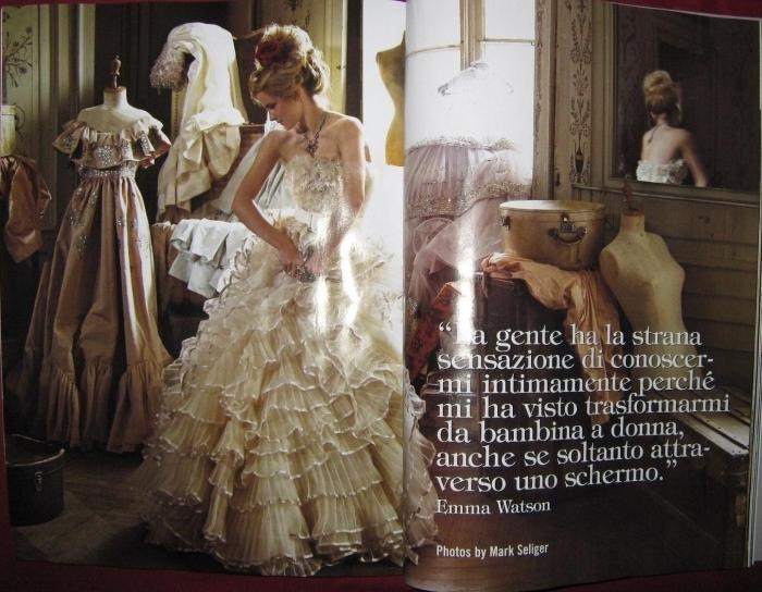 Emma - Italian Vogue Photoshoot - Emma Watson 700x544