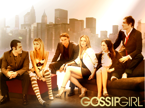 Gossip Girl wallpaper with a business suit called Gossip Girl