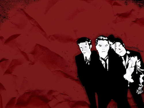 Green Day wallpaper possibly with a business suit and anime called Green Day