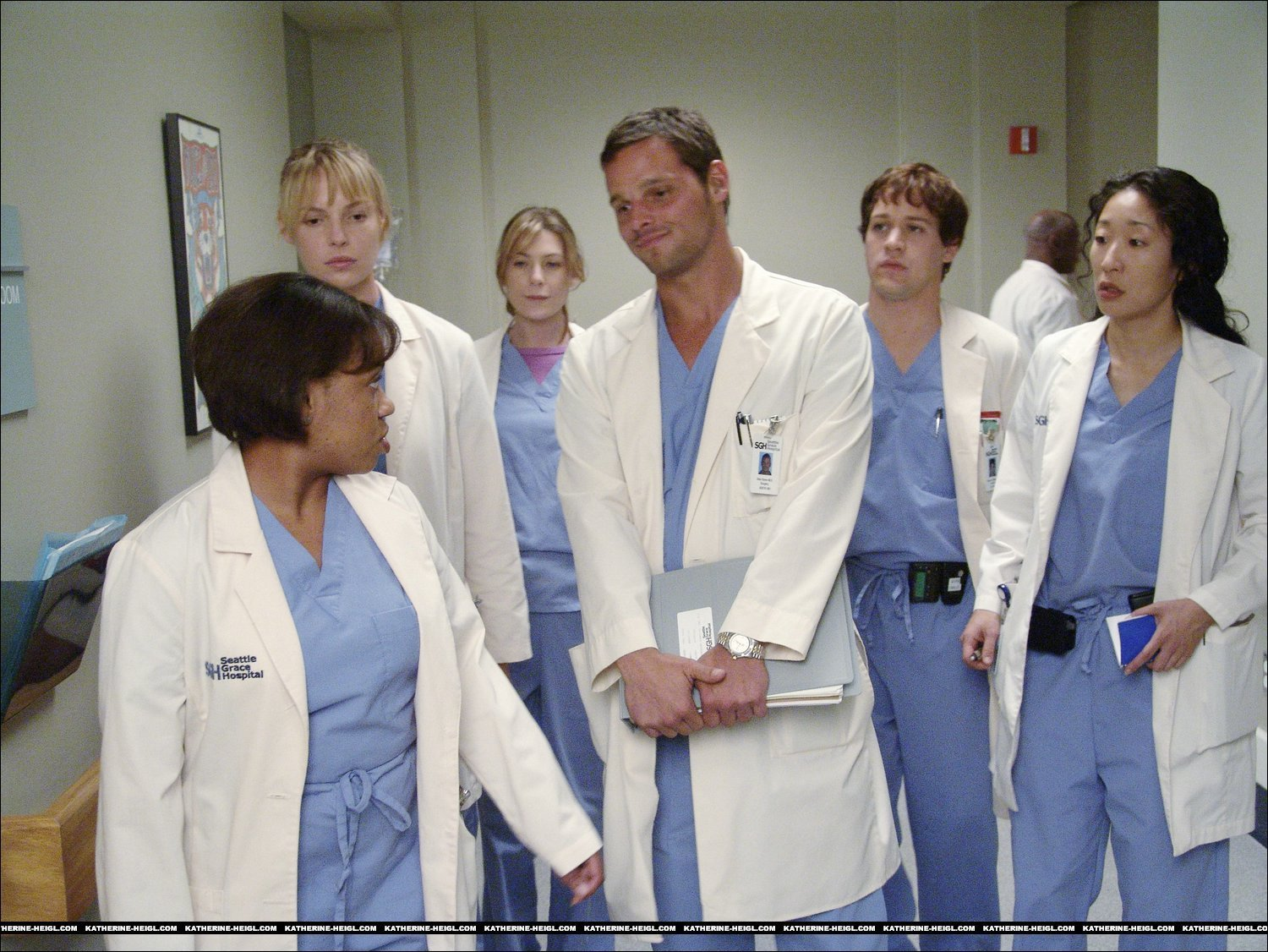 Greys anatomy - season 1 - George & Izzie Photo (2256777) - Fanpop