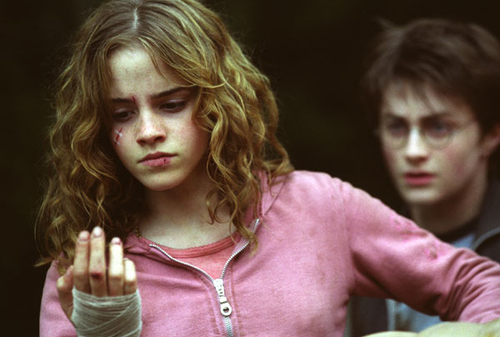 Harry and Hermione