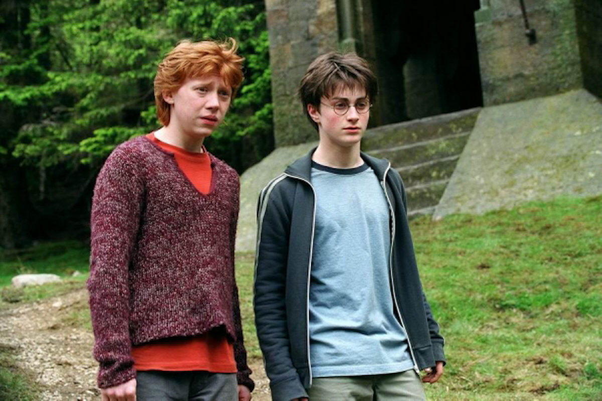 Harry and Ron