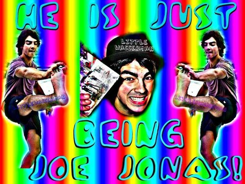 He is just being Joe Jonas  - joe-jonas Fan Art