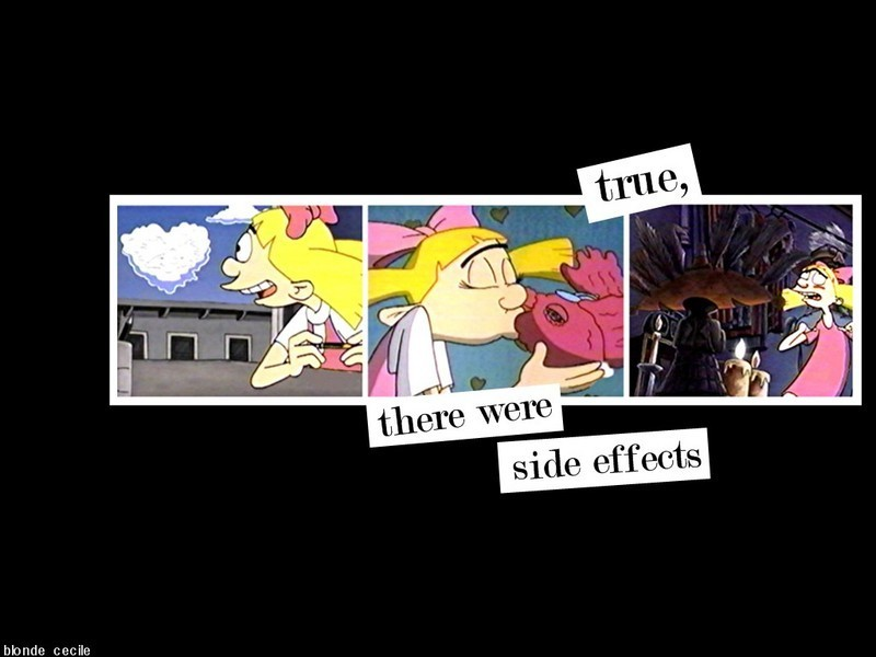 Helga - hey-arnold Wallpaper Hey Arnold Helga And Arnold Together