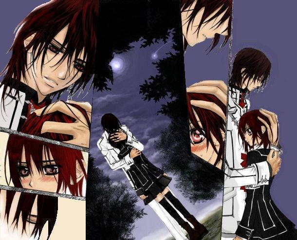 Kaname and Yuuki - Vampire Knight 610x493