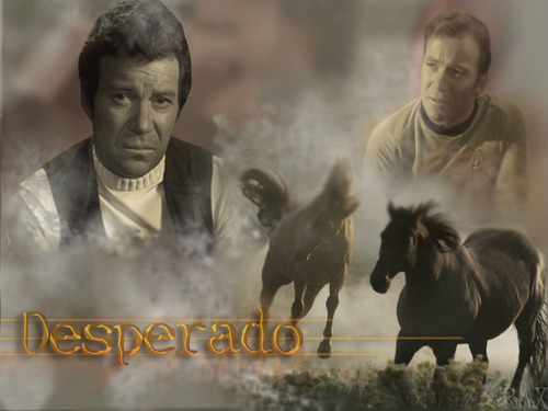 Kirk--Desperado - star-trek Wallpaper