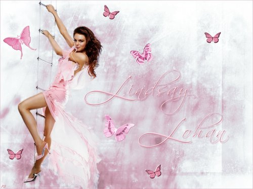 Lindsay Lohan wallpaper probably with a portrait entitled Lindsay