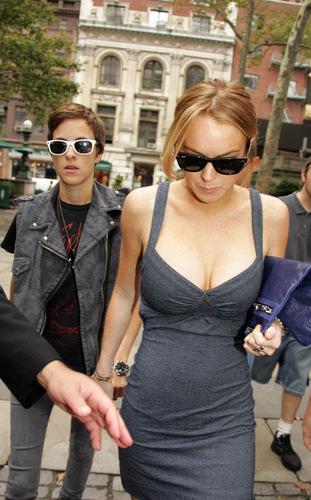 Lindsay with Sam
