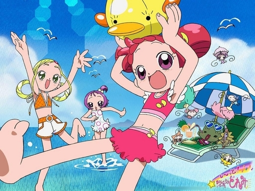 Magical Do Re Mi Fond Decran Containing Anime Titled Doremi