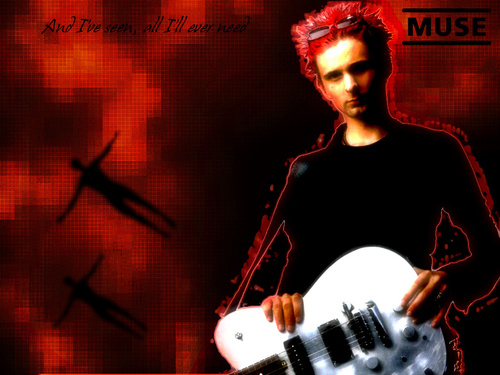 Matthew Bellamy wallpaper containing a concert titled Matt wallpaper
