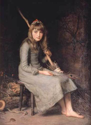 Millais Cinderella - fairy-tales-and-fables Photo