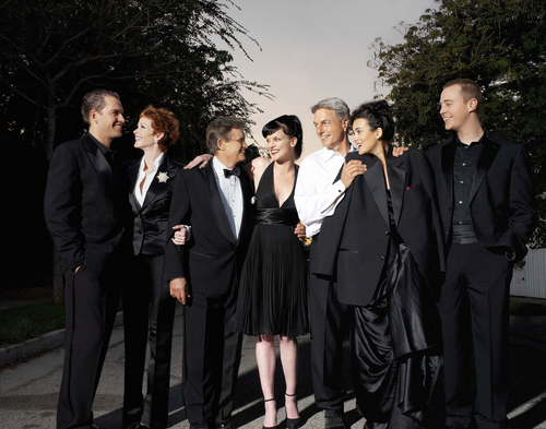 NCIS wallpaper with a business suit, a suit, and a dress suit entitled NCIS cast