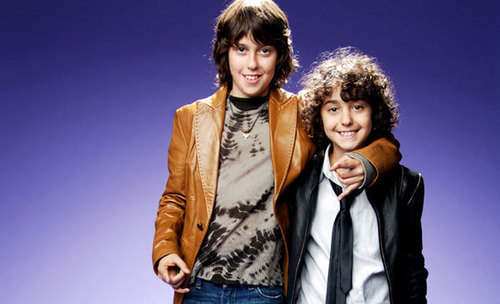 The Naked Brothers Band wallpaper titled Nat and Alex