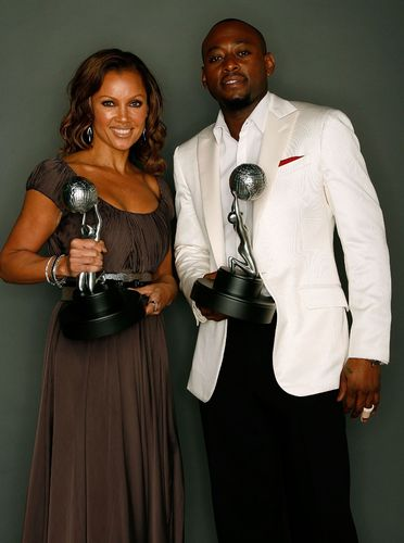 Omar Epps and Vanessa Williams