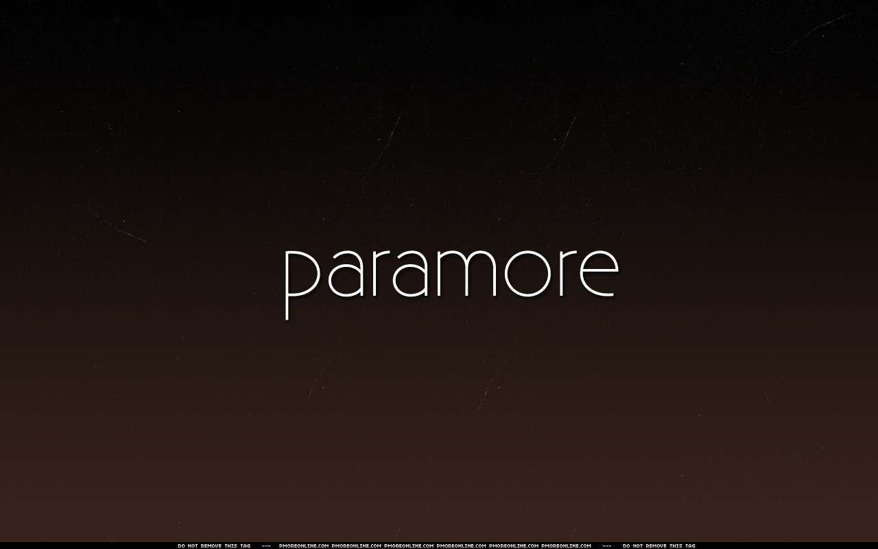 Paramore Paramore Wallpaper 2224488 Fanpop