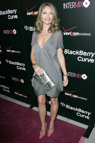 Rebecca at new blackberry launch