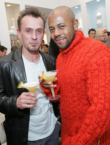 Robert Knepper and Rockmond Dunbar