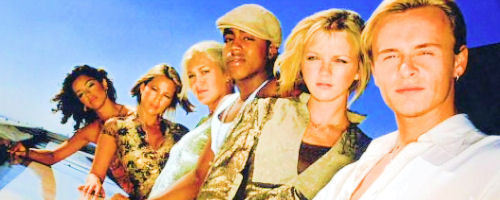 S Club 7 banner