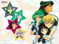Sailor Moon kertas dinding