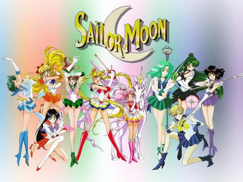 Sailor Moon wallpaper possibly containing anime titled Sailor Moon Wallpaper