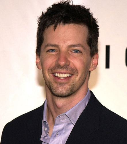 Jack McFarland wallpaper with a business suit, a suit, and a two piece entitled Sean Hayes