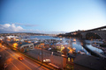 Lake Union and Aurora Bridge, Dusk - seattle photo