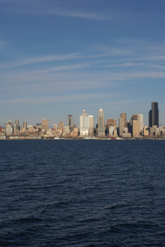 Elliott bay and Skyline