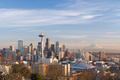 Seattle Skyline and Mount Rainier - seattle photo