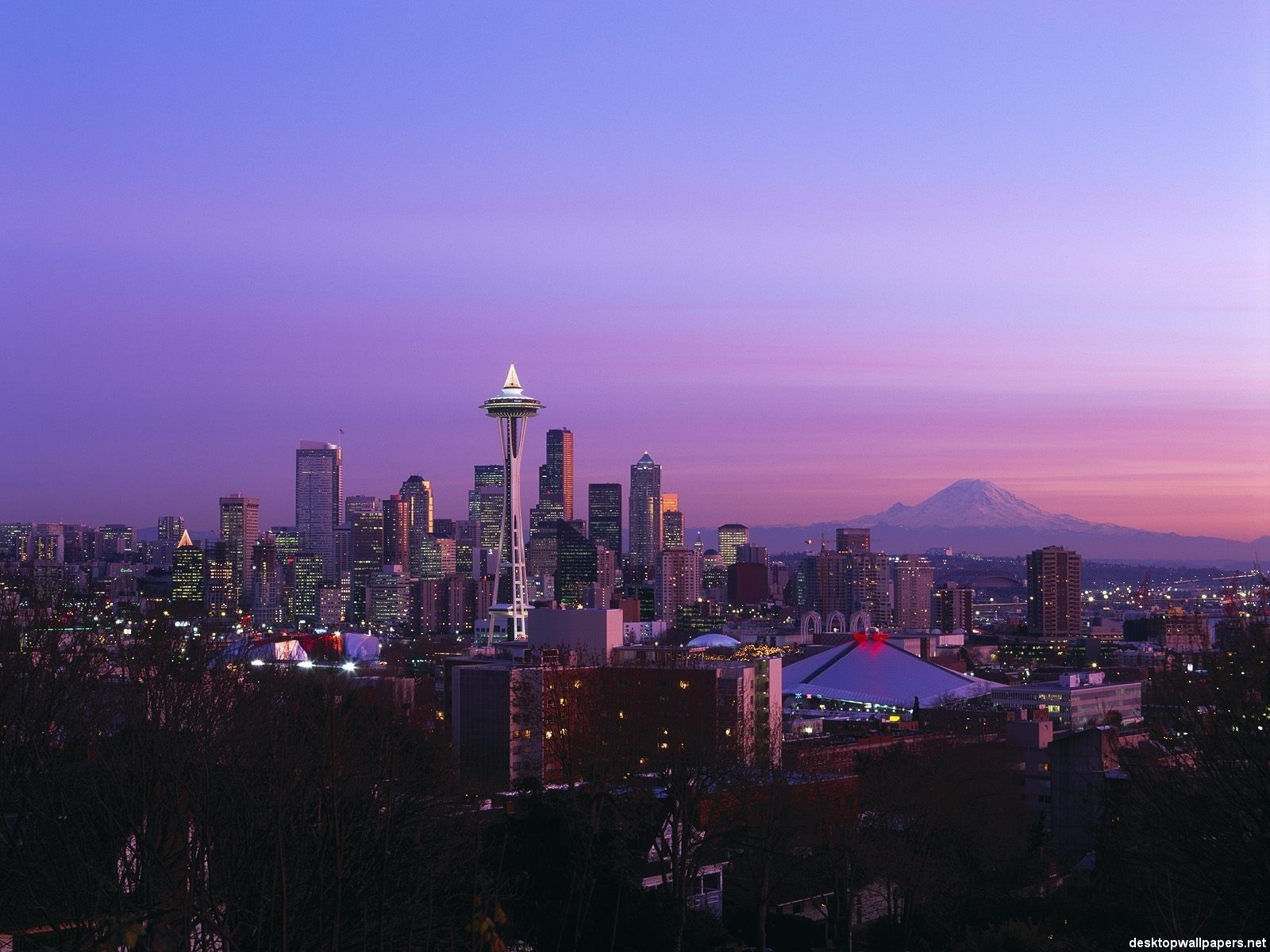 Seattle kertas dinding