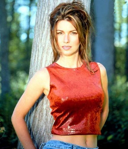 Shania Twain karatasi la kupamba ukuta probably with a juu and a cocktail dress called Shania