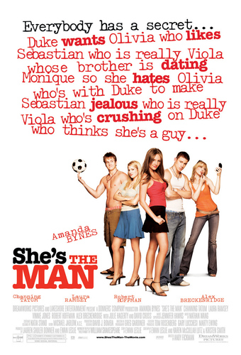 She's the Man wallpaper titled She's the man