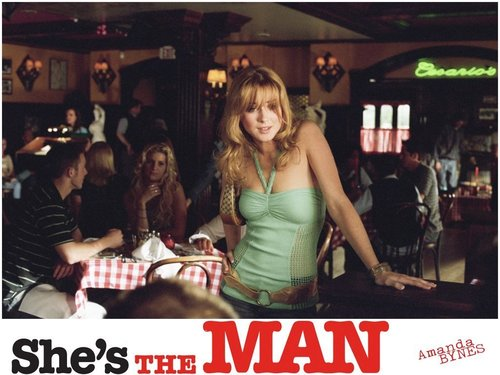 She's the Man wallpaper with a brasserie called She's the man