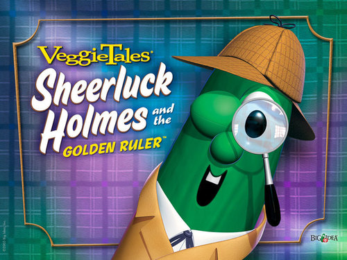 Sheerluck holmes ( played 由 Larry)