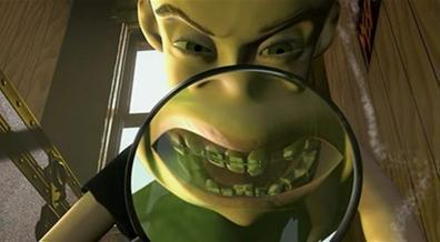 Toy Story Hintergrund called Sid