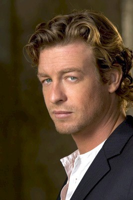 The Mentalist wallpaper containing a business suit, a suit, and a dress suit titled Simon Baker