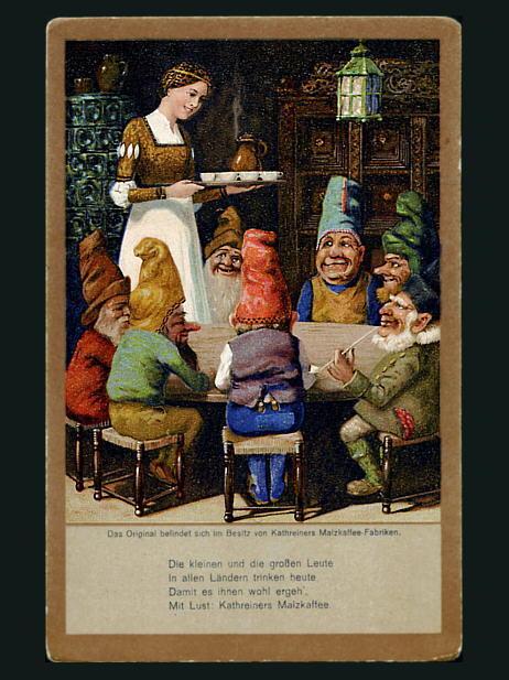 Snow White postcard 2