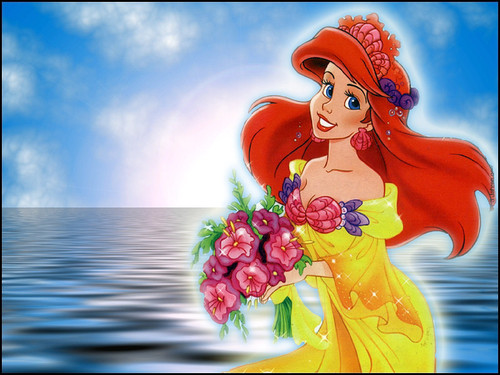 Ariel wallpaper containing a bouquet titled TLM