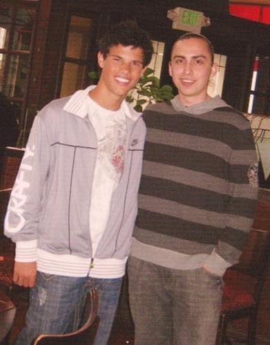 Talyor Lautner and Solomon Trimble
