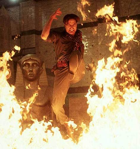 The Mummy Filme Hintergrund containing a fire, a fire, and a fireplace entitled The Mummy