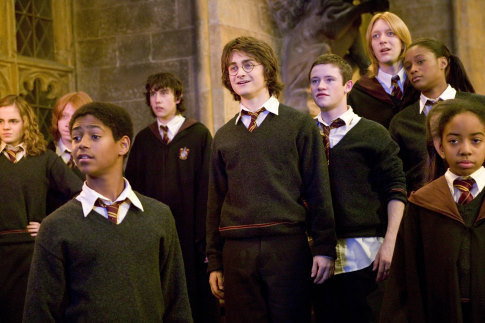 Harry Potter & the goblet of fire images The cast ...