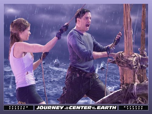 Journey to the Center of the Earth wallpaper called Trevor Anderson and Hannah Ásgeirsson